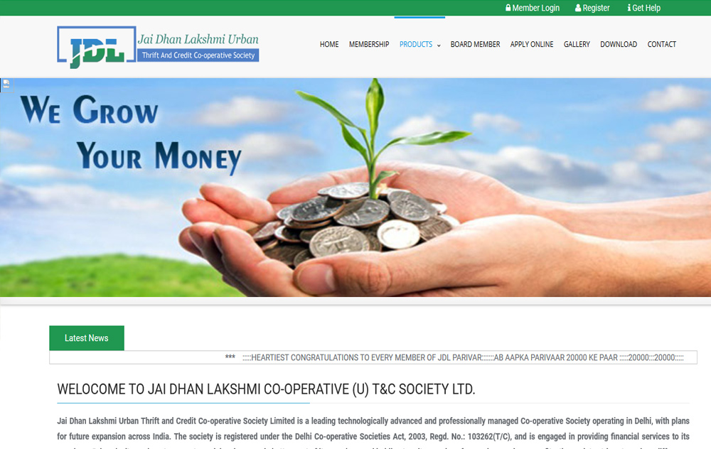 Jai Dhan Lakshmi Urban Thrift and Credit Co-operative Society Limited